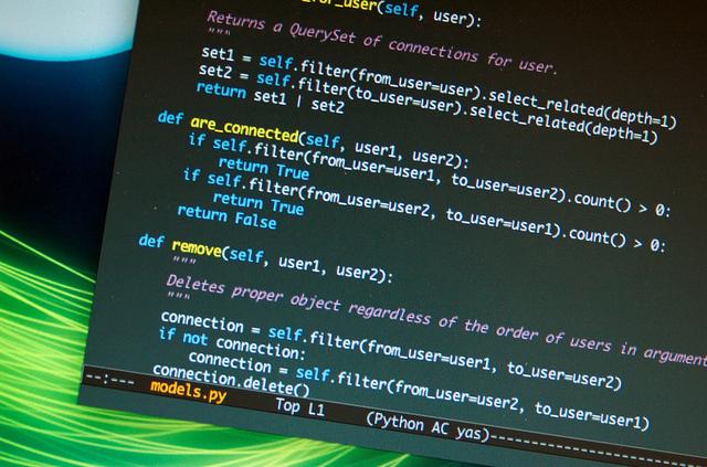 Python Code Written Out