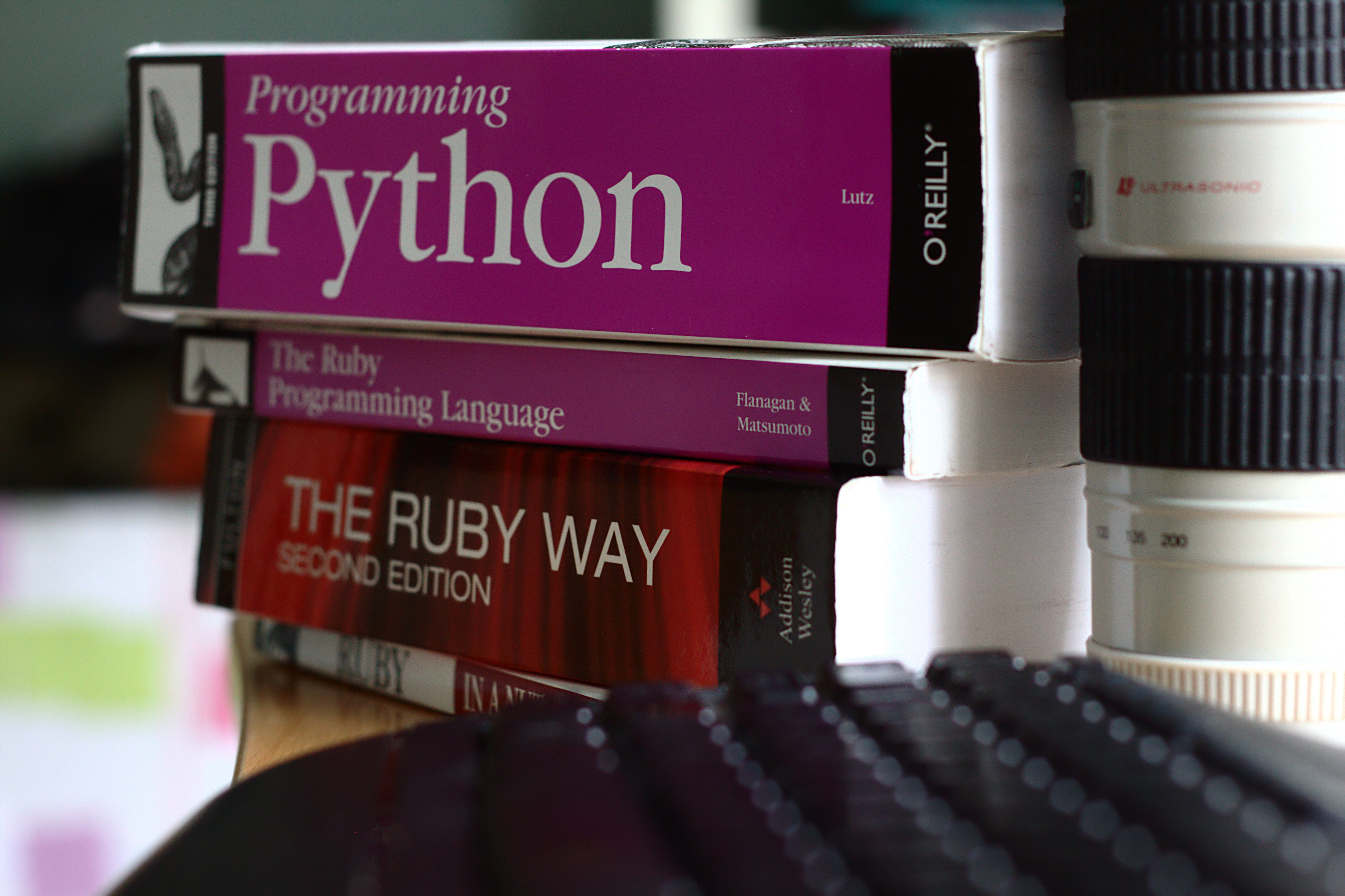 Stack Of Programming Books