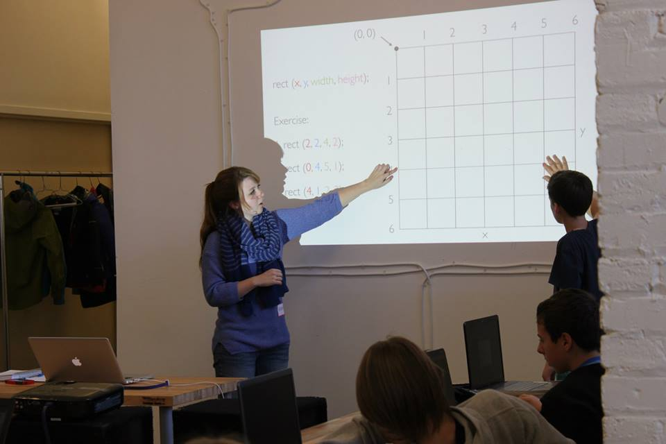Kathryn Barrett Teaching