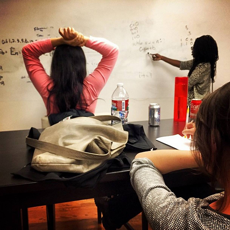 Learning algorithms at Hackbright