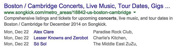 concerts tonight schema