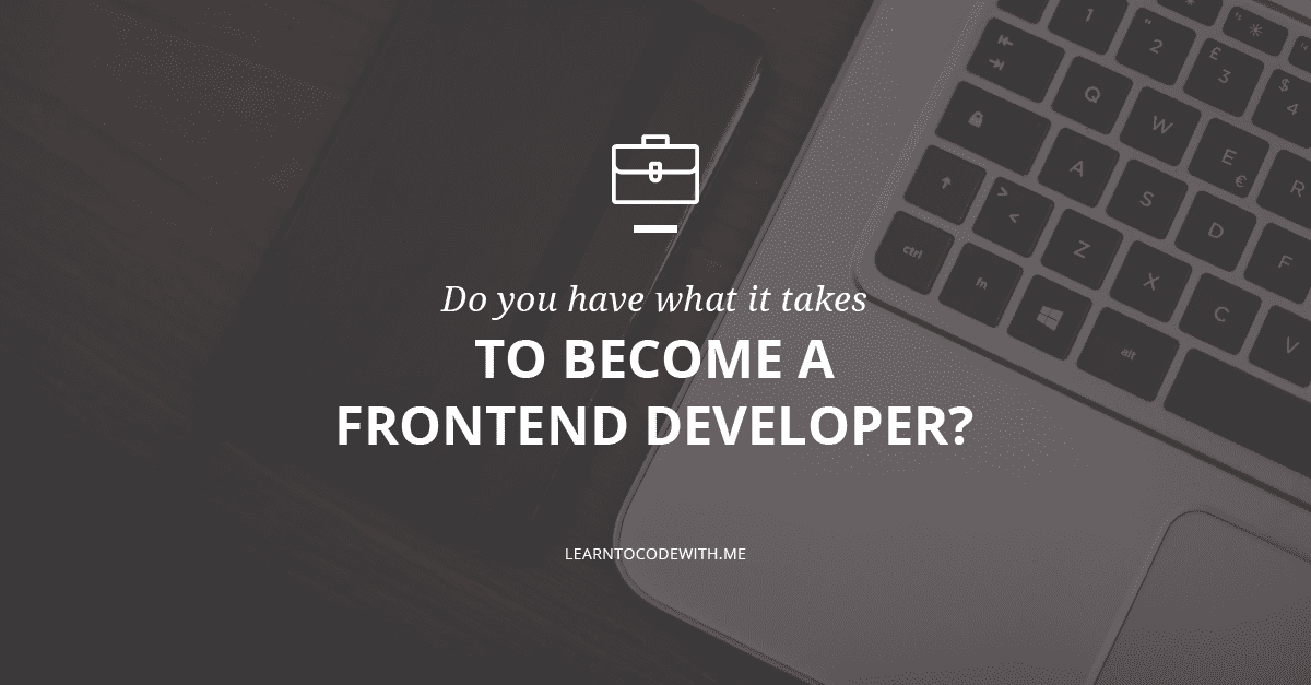how to become a good front end developer