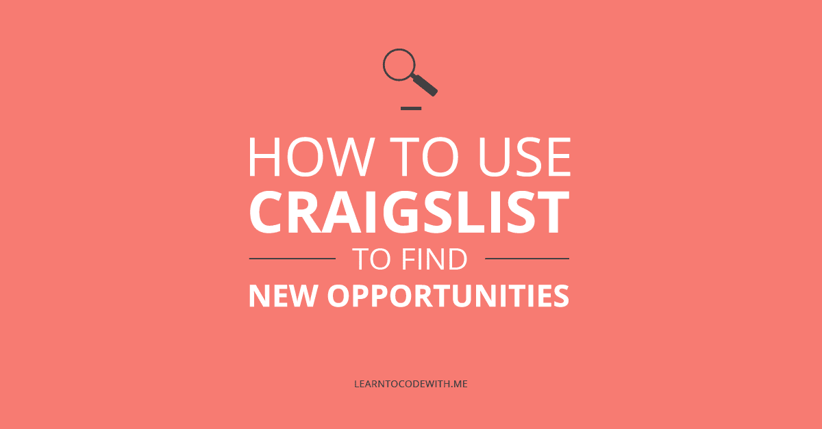 How to use Craigslist during your job hunt