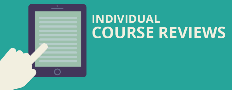 Individual course reviews on LTCWM.