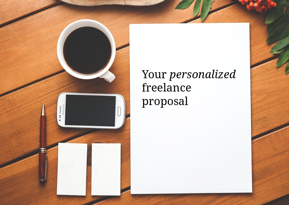 Your custom proposal