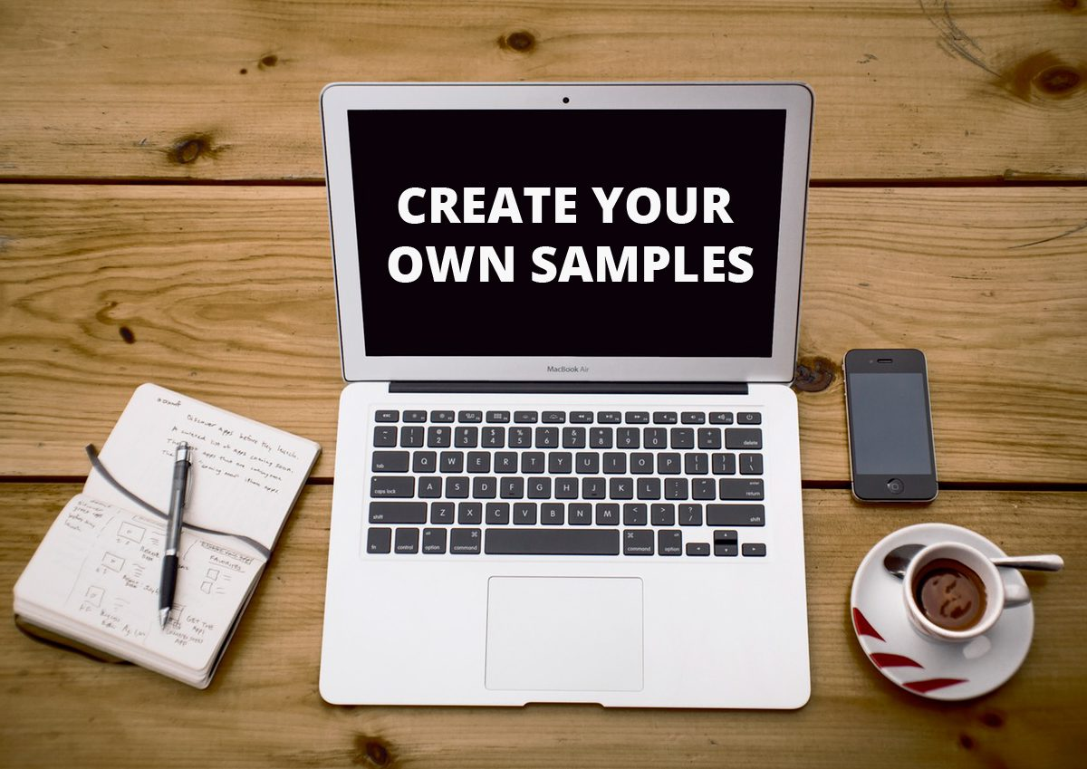 make your own samples
