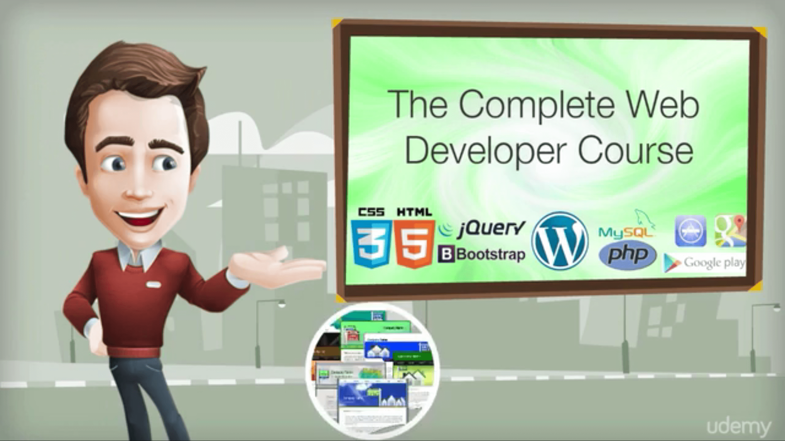 Udemy: The Complete Web Developer Course - Build 14 Websites