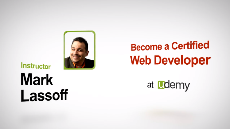 Udemy - Become a Certified Web Developer
