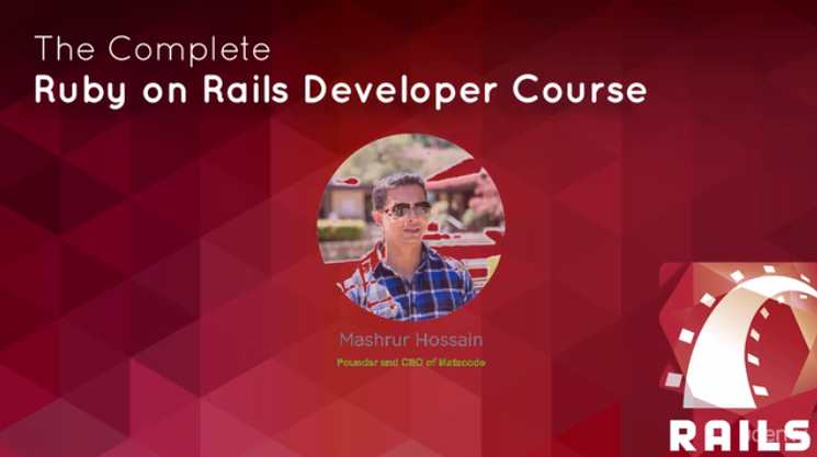 Udemy - Complete Ruby on Rails Developer Course
