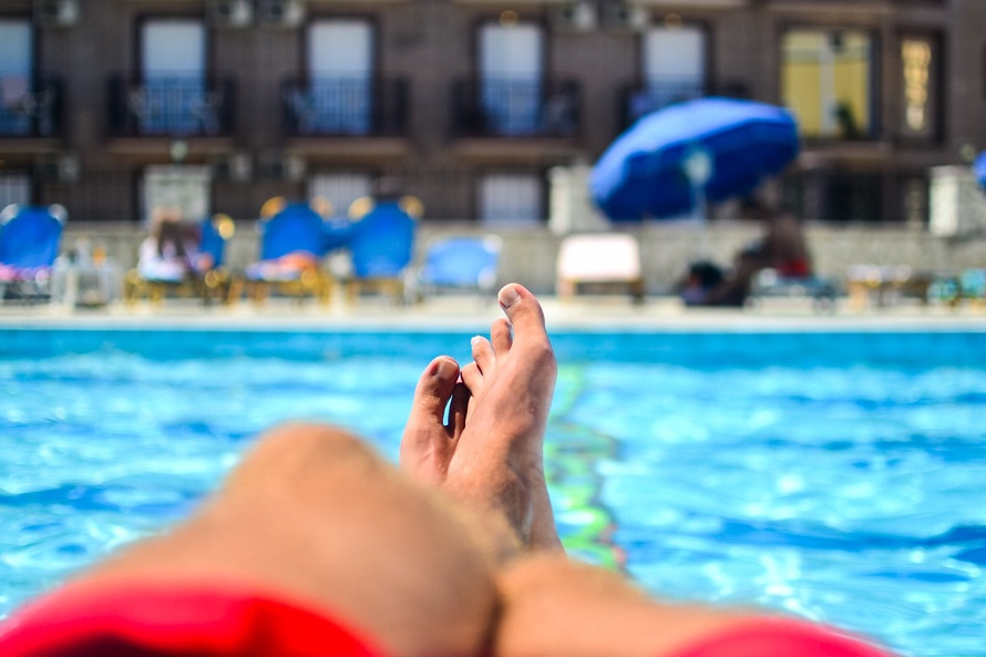 Hiring managers don't sit poolside
