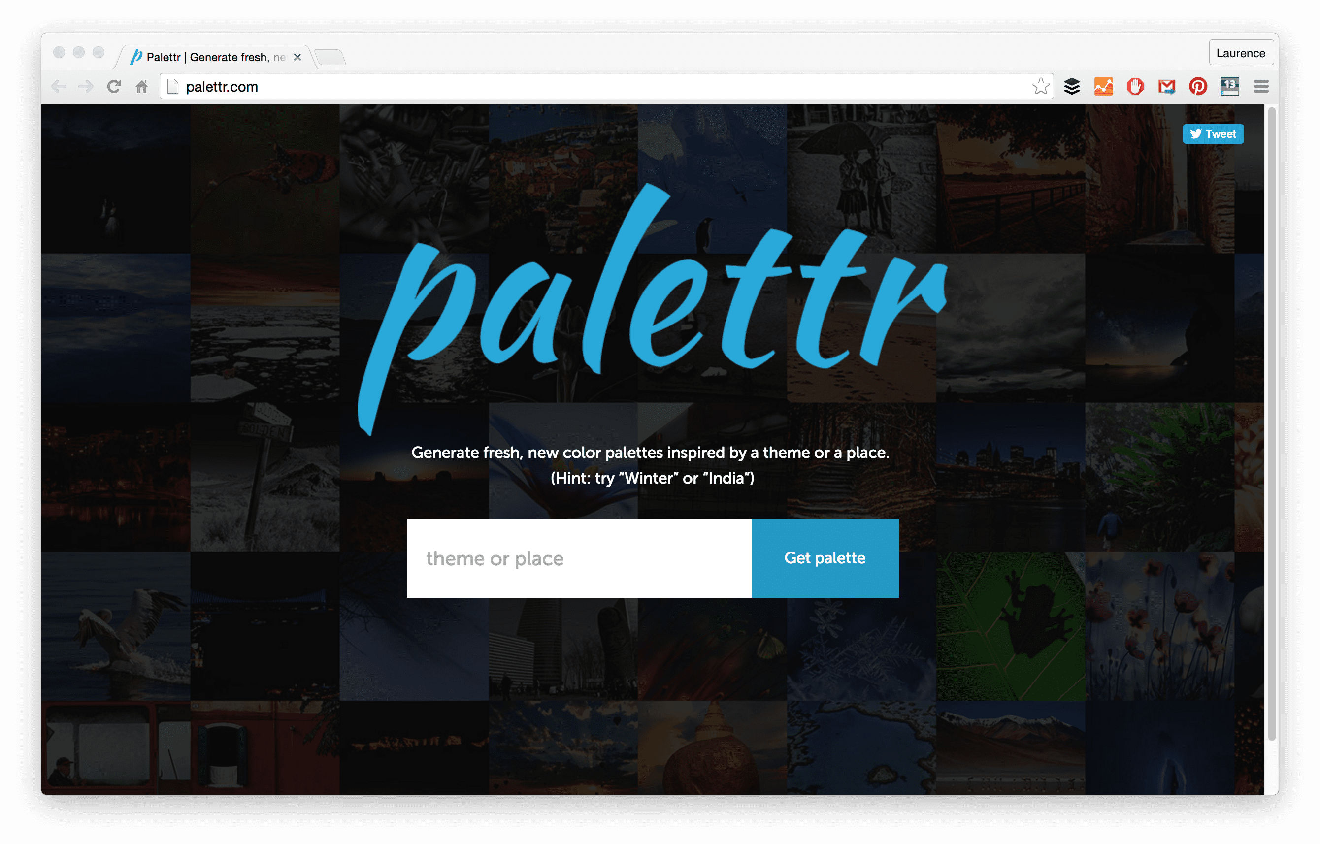 Palettr Generates Color Schemes Inspired From The Photographs Uploaded By Users On 500px You Can Search Using Keywords Site Suggests