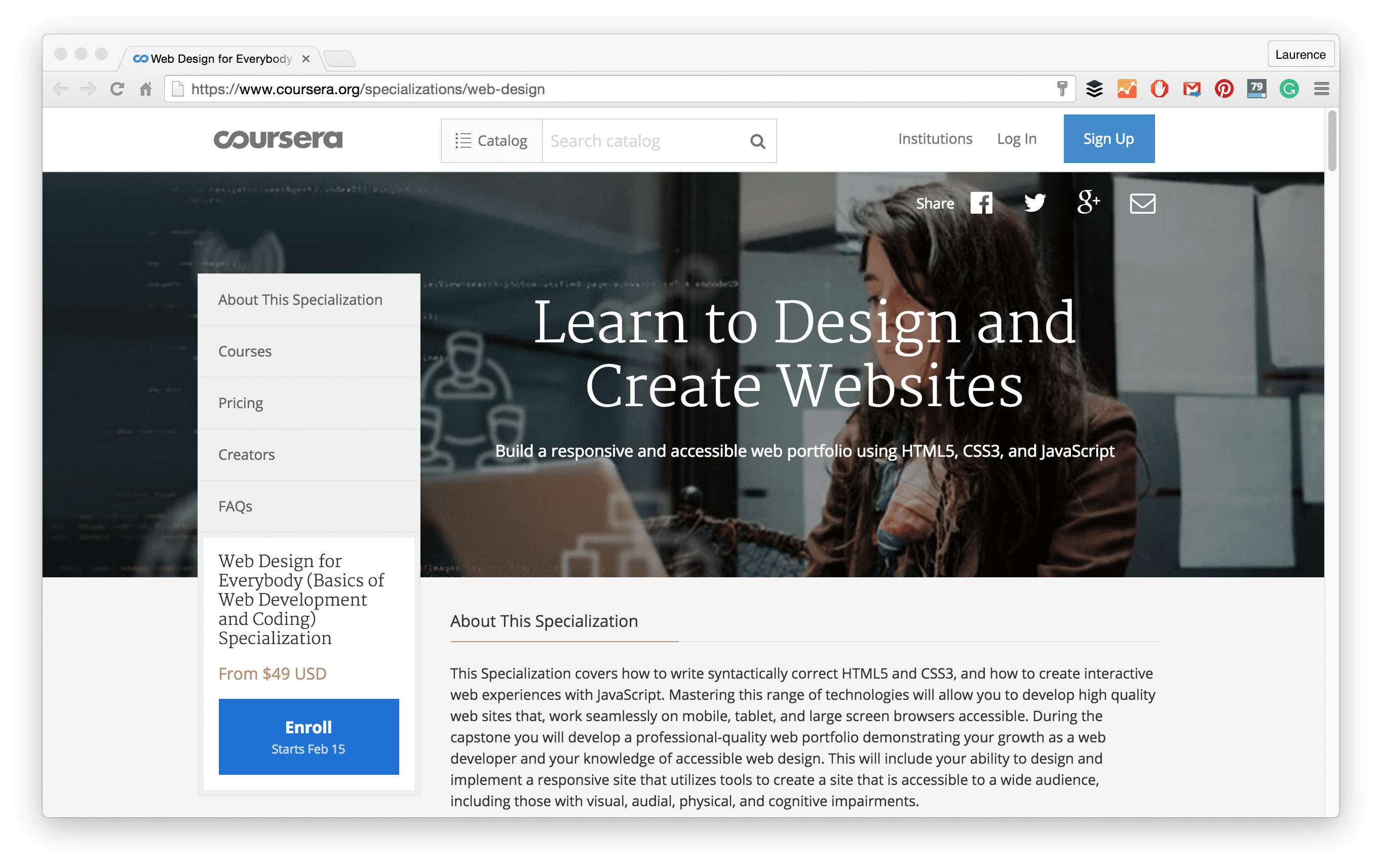 Coursera Responsive Web Design
