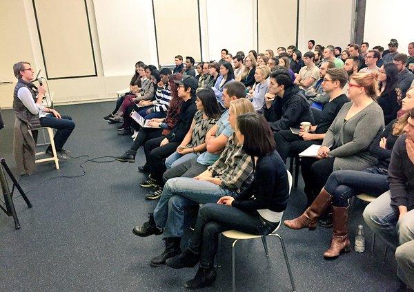 Discussion at Flatiron School