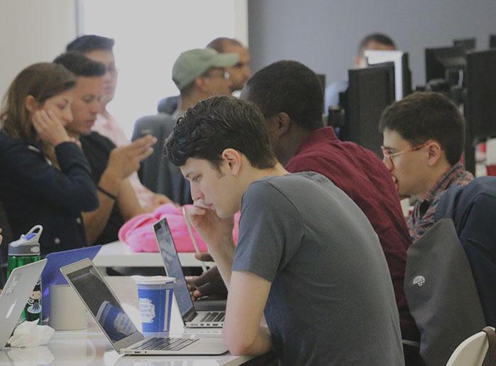 Students at Flatiron School