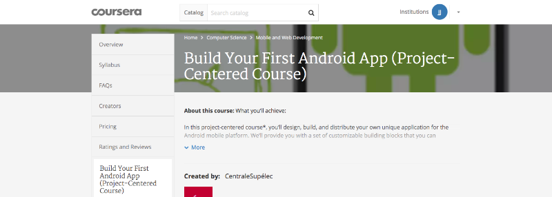 Build Your First Android App