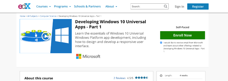 Developing Windows 10 Universal Apps