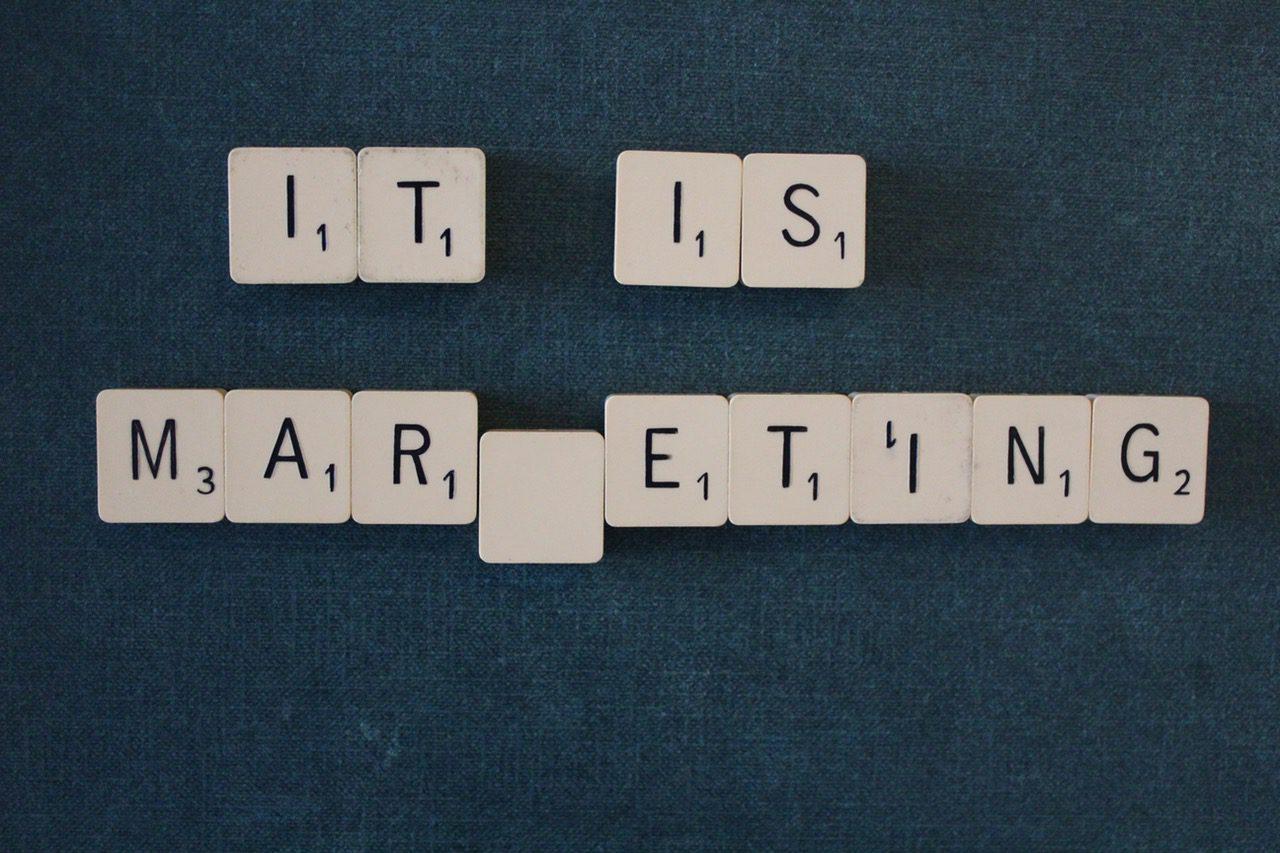 It is marketing