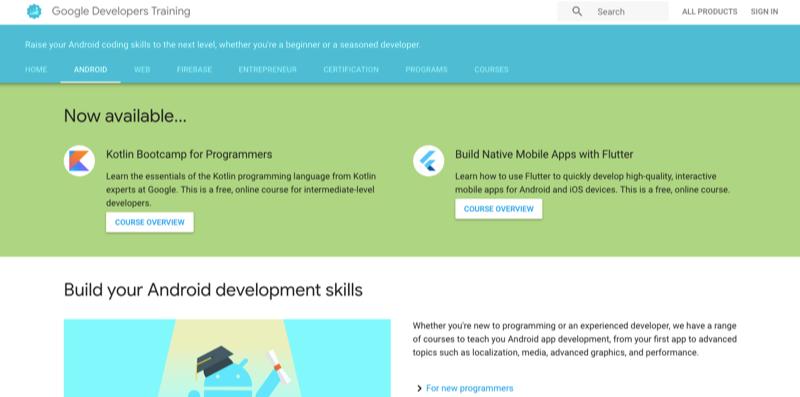 google-developers-training