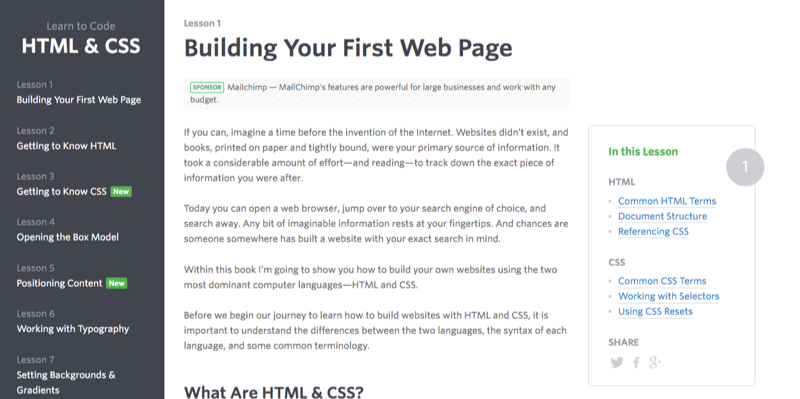 71 of the best places to learn to code for free learn to code html css fandeluxe Choice Image