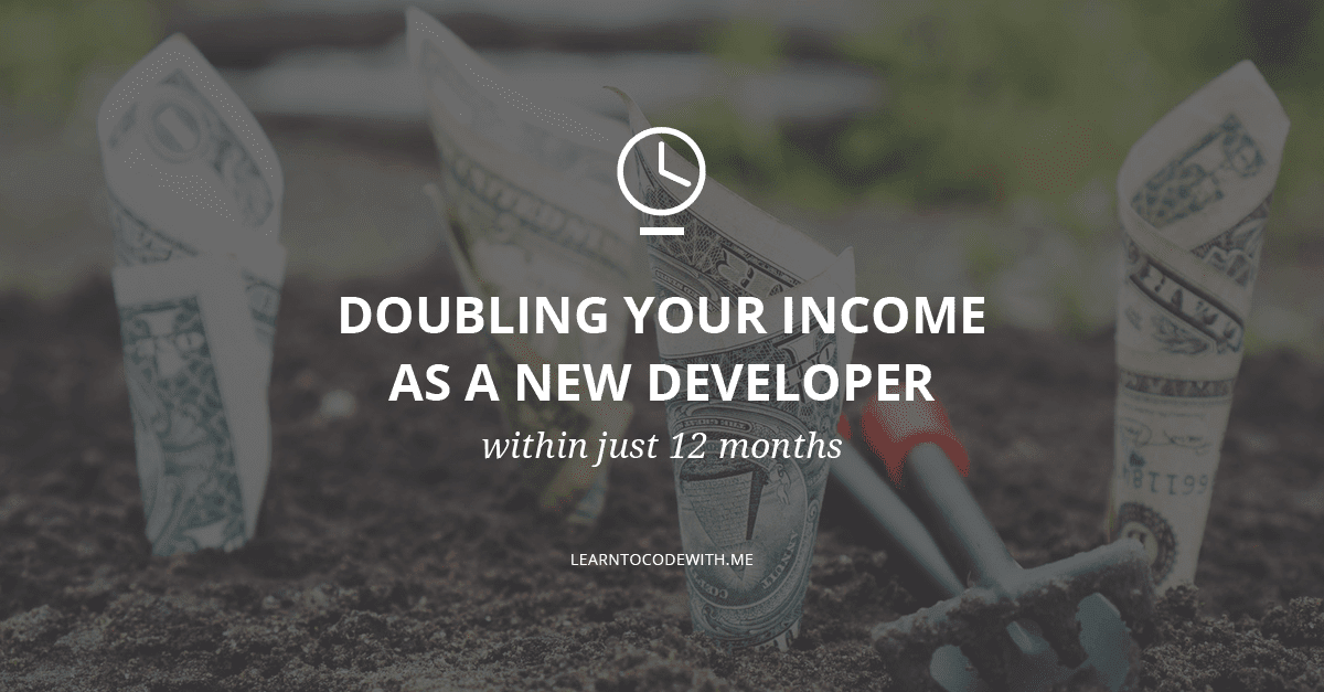 Doubling your income as a new iOS developer within just 12 months