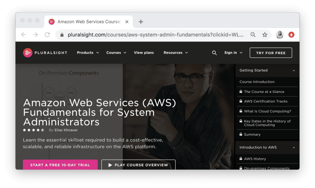 Amazon Web Services (AWS) Fundamentals for System Administrators