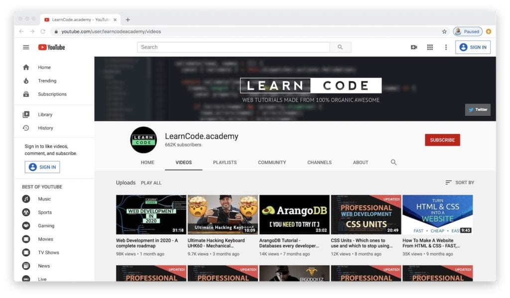 81 of The Best Places to Learn to Code For Free | Learn to Code With Me