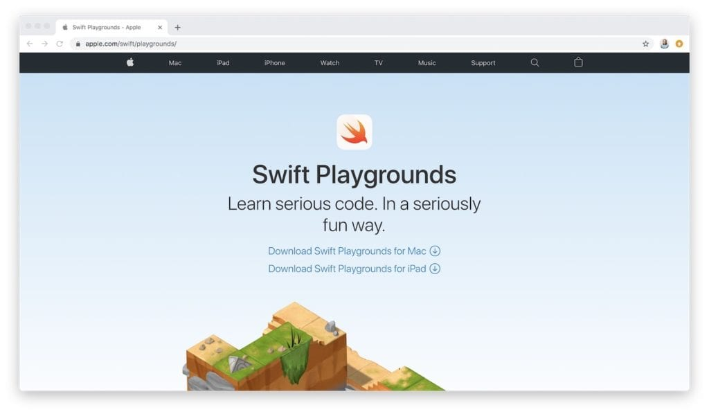 learn to code swift playgrounds