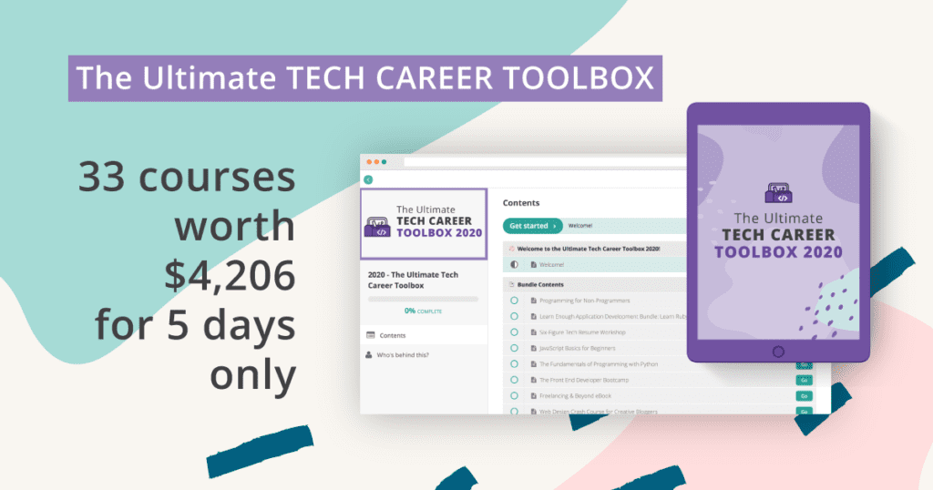 ultimate tech career toolbox 2020