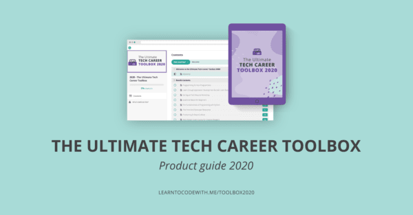 Ultimate Tech Career Toolbox 2020 Product Guide