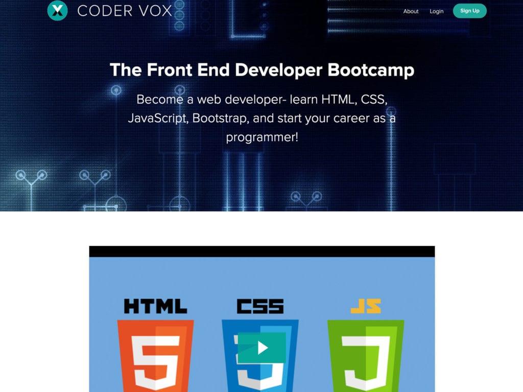 front-end developer bootcamp