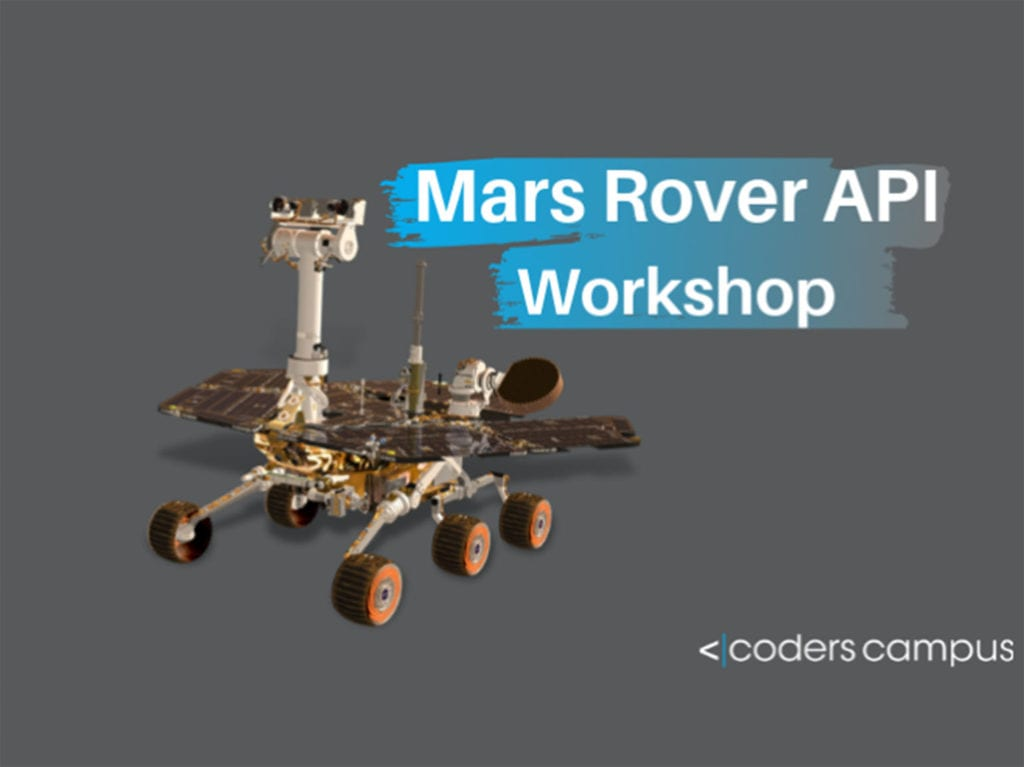 mars rover api workshop