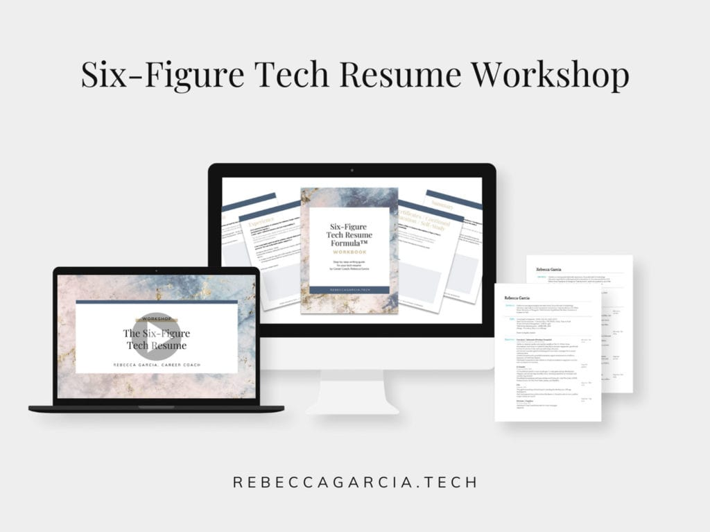 six-figure tech resume