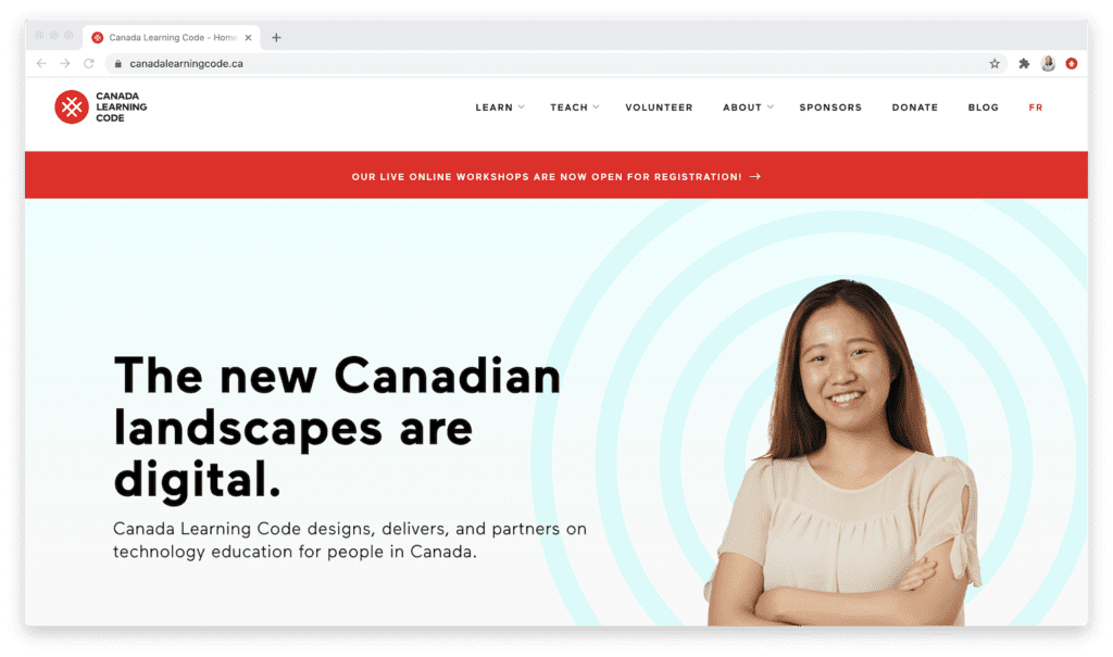 Ladies Learning Code by Canada Learning Code