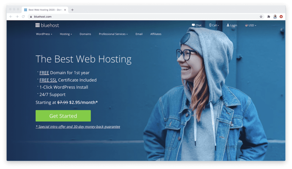 Overview of Bluehost WP Pro