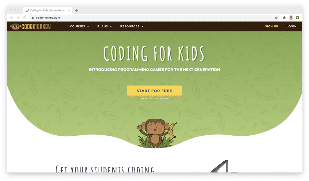 Code monkey website
