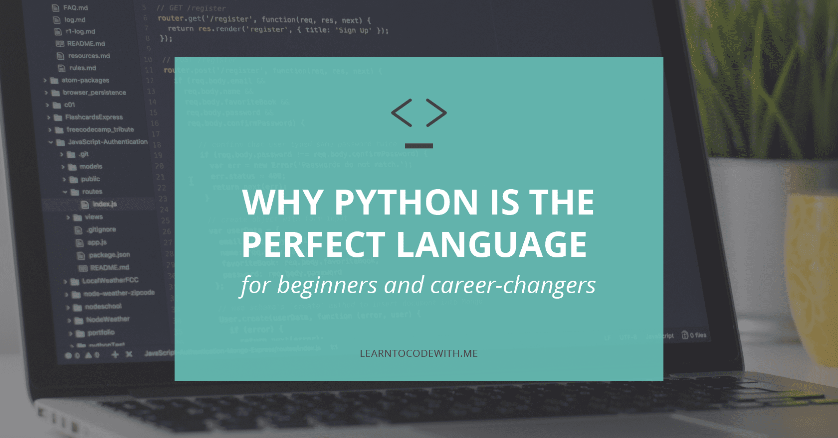 Why Learn Python? Why Python is the perfect language for beginners and career-changers