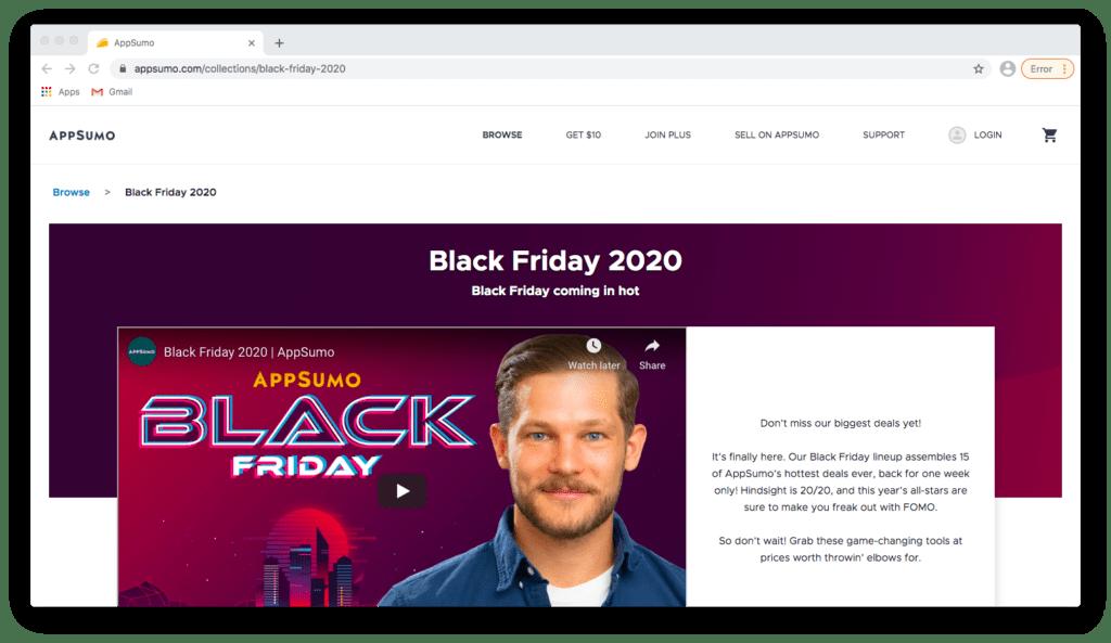 AppSumo's Black Friday Tech Deals