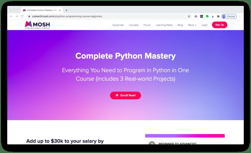 Complete Python Mastery
