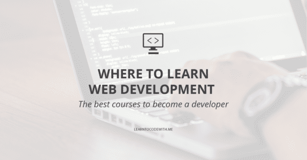 where to learn web development