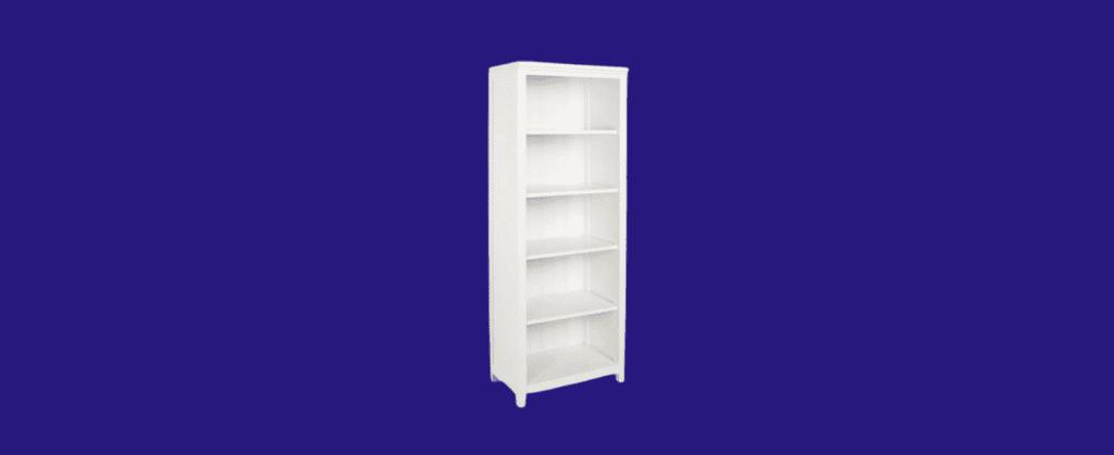 beadboard tall bookcase