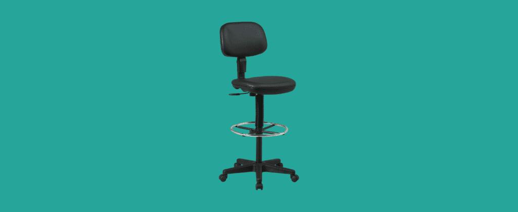 back pneumatic drafting chair