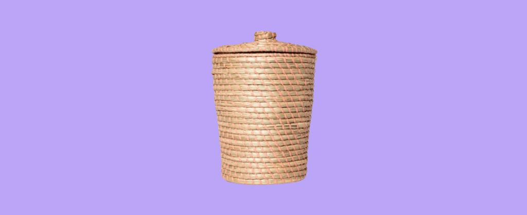 opalhouse wastebasket