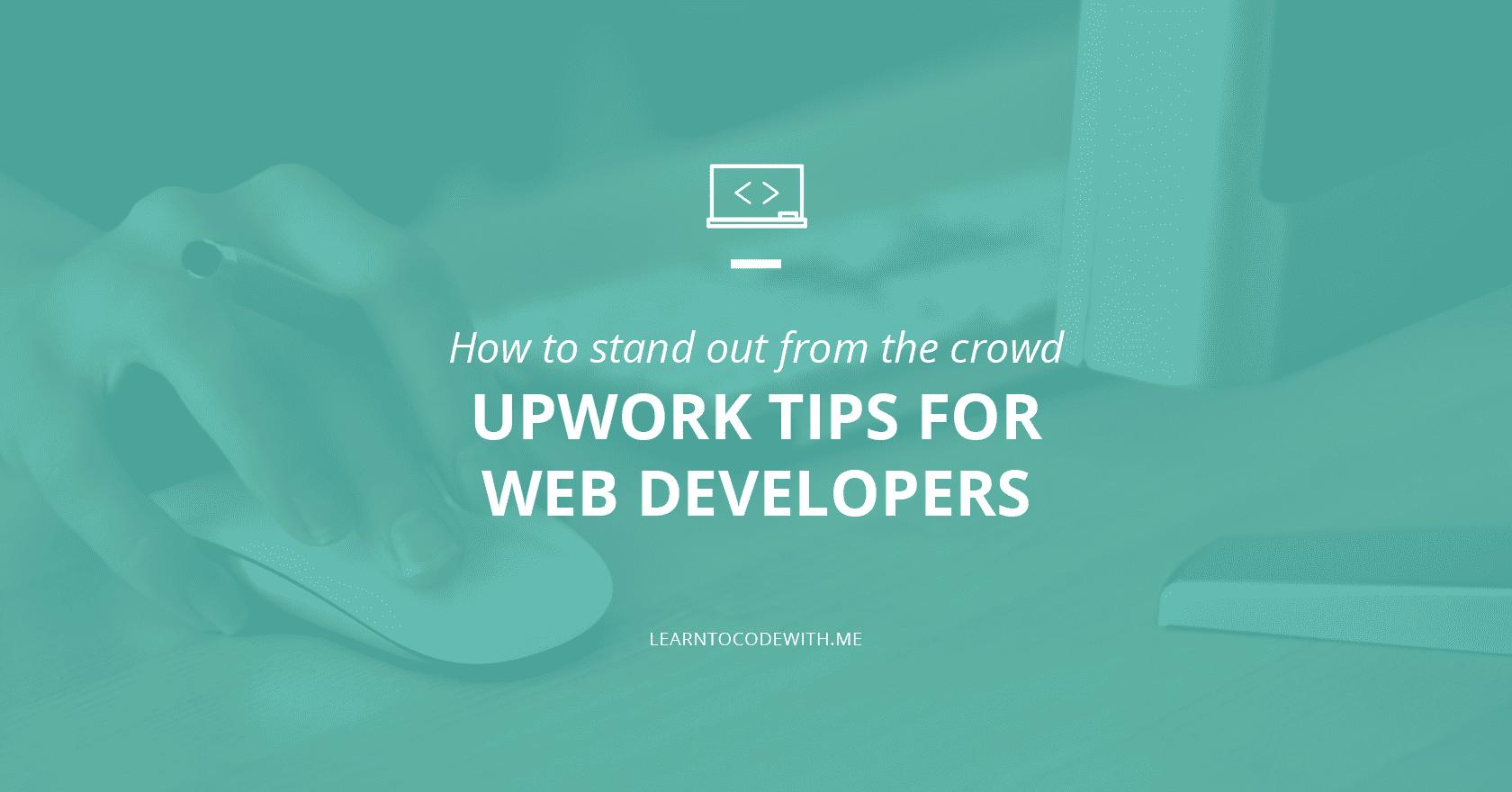 Upwork tips for web developers